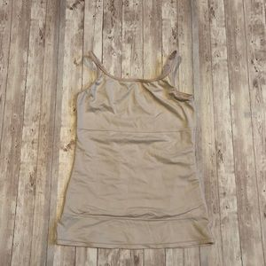 Flexees nude tank top shapewear